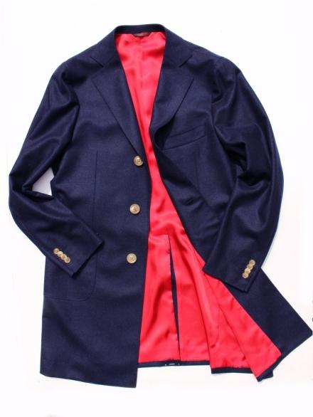 日子オリジナルコート ネイビー