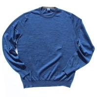 FEDELI 丸首セーター ブルー