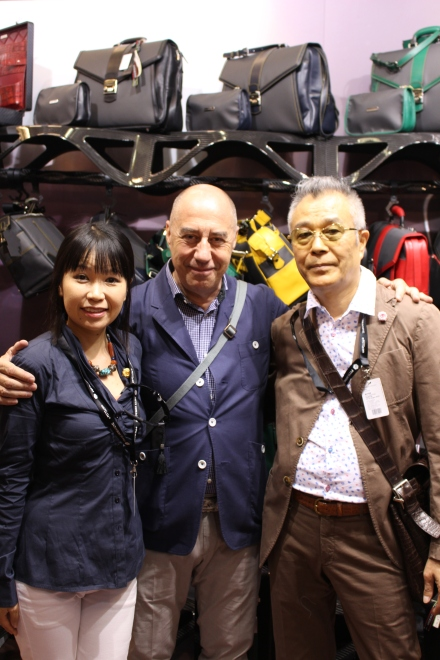 With Giacomo san