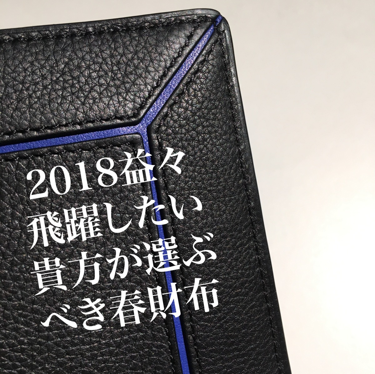 2018年 益々飛躍したい貴方が選ぶべき春財布